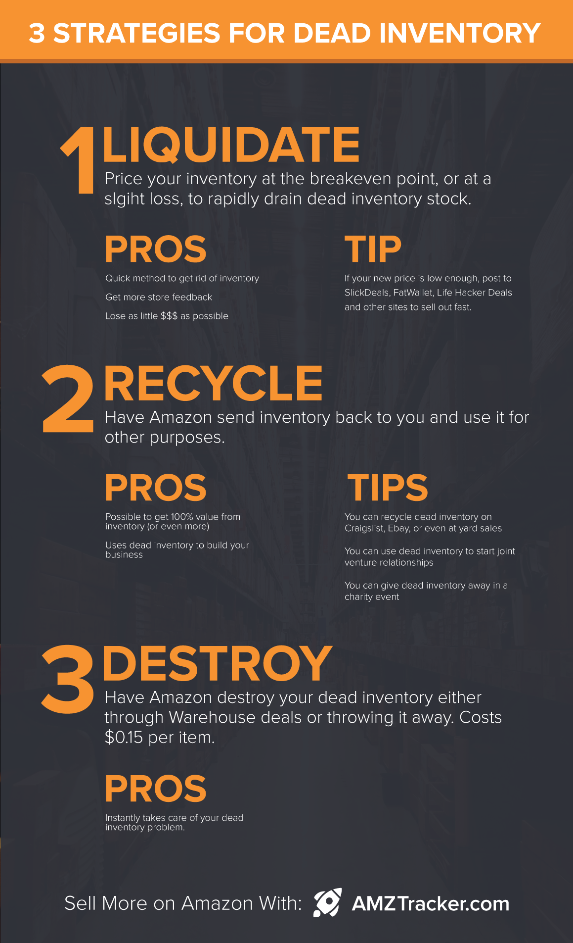 3 ways to get rid of dead amazon inventory