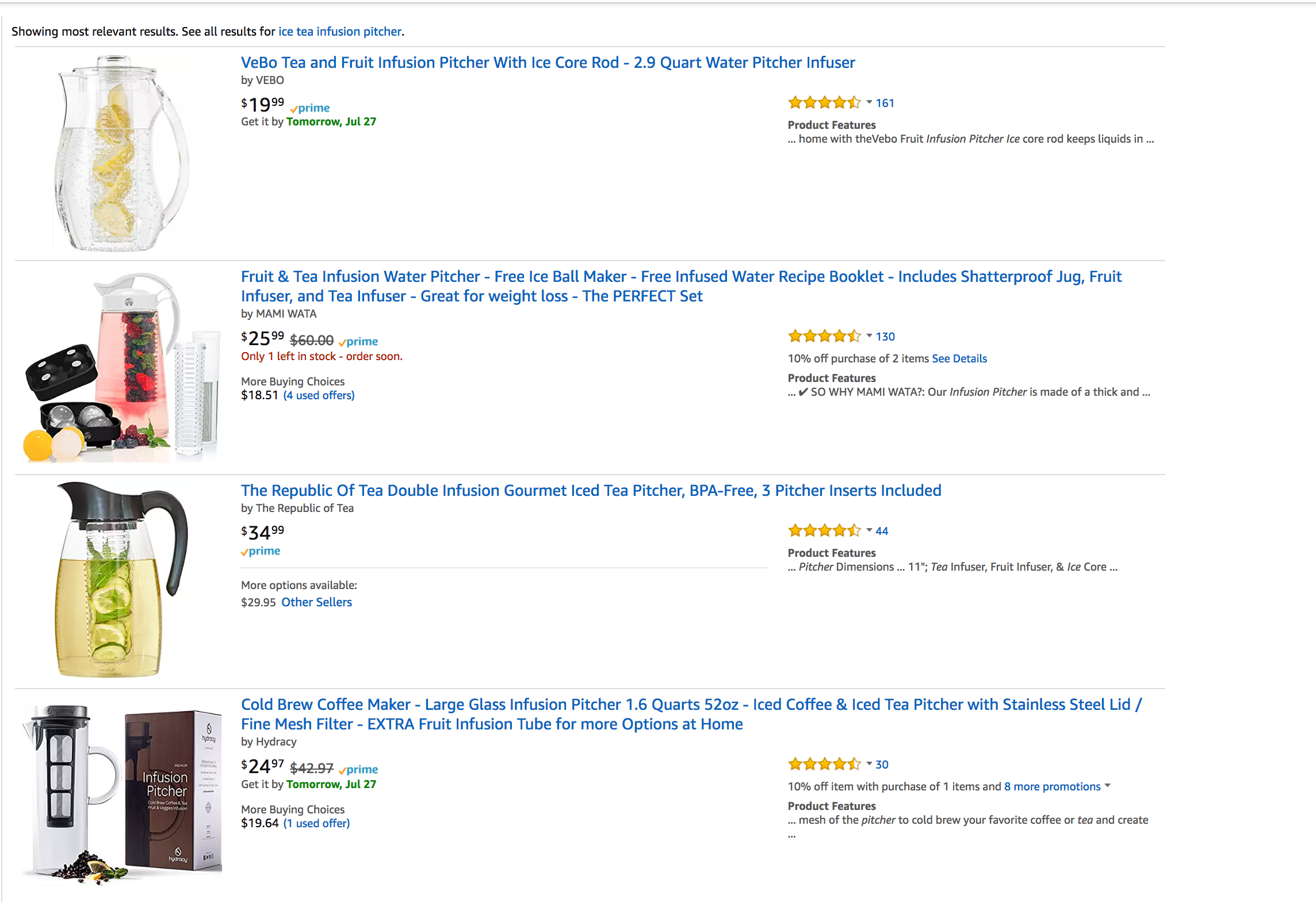See Amazon's A9 search algorithm in action