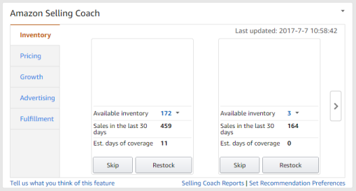 Amazon Seller Central Selling Coach